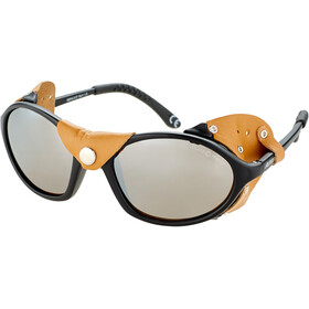 Alpina Sibiria Okulary, black-brown/brown mirror